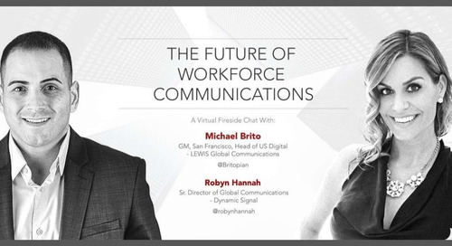 The Future Of Workforce Communications