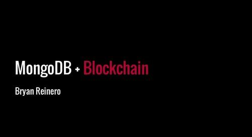 MongoDB Europe 2016 - Distributed Ledgers, Blockchain + MongoDB