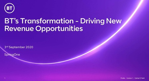BT's Consumer Digital Commerce Transformation is Driving New Revenue Opportunities