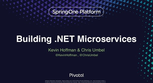 Building .NET Microservices