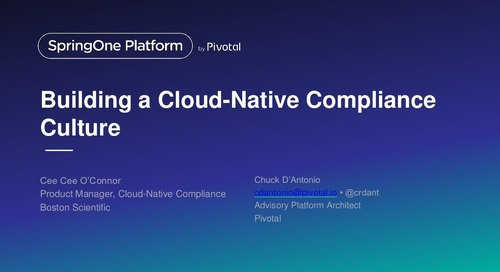 Building a Cloud Native Compliance Culture