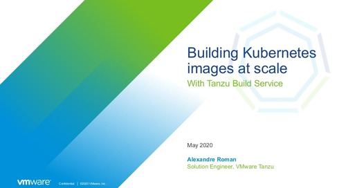 Building Kubernetes images at scale with Tanzu Build Service