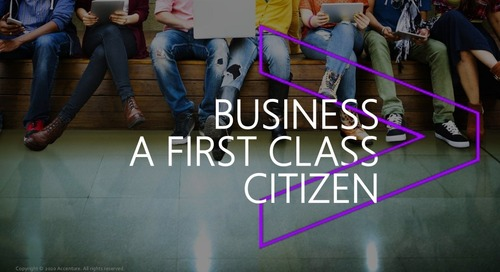Making the Business a First-Class Citizen During the Application Modernization Journey