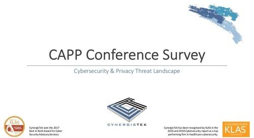 CAPP Conference Survey