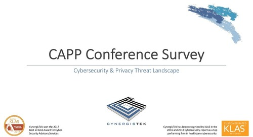CAPP Conference Survey