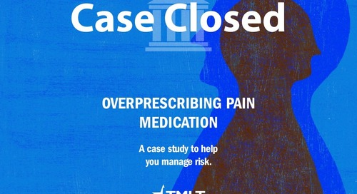 Overprescribing Pain Medication