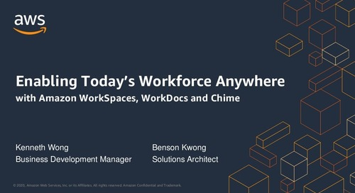 BCP Webinar - Enabling Today's Workforce Anywhere