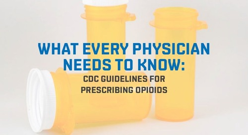 CDC issues guidelines for prescribing opioids