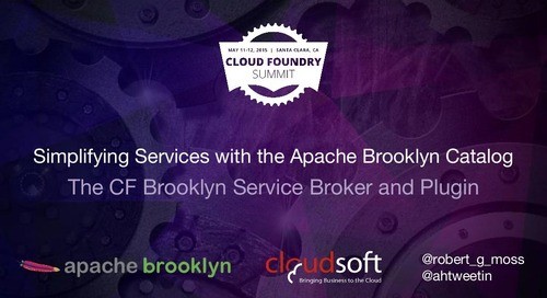 Simplifying Services with the Apache Brooklyn Catalog