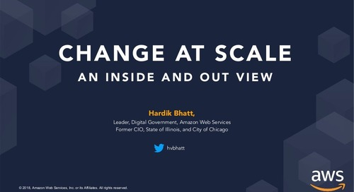 Change at Scale