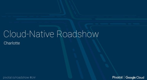 Cloud-Native Roadshow - Landscape - Charlotte