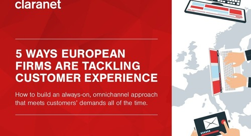 5 ways European firms are tackling customer experience