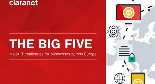 The Big Five: major IT challenges for businesses across Europe