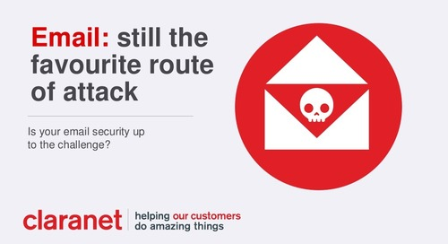 Email: still the favourite route of attack