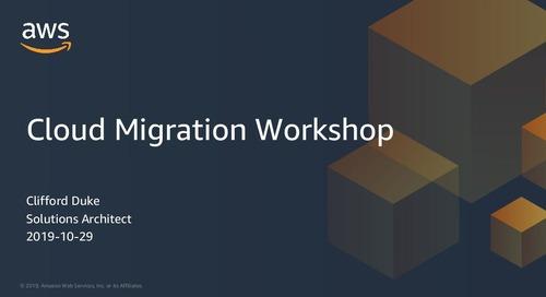 Cloud Migration Workshop