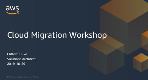 Cloud Migration Workshop