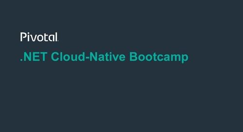.NET Cloud-Native Bootcamp