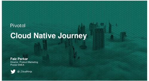 The Cloud-Native Journey