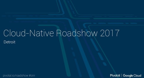 Cloud-Native Roadshow - Microservices - Detroit