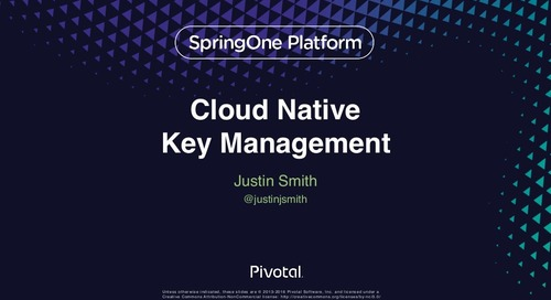 Cloud-Native Key Management