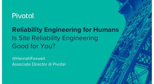 Reliability Engineering for Humans Is Site Reliability Engineering Good for You?
