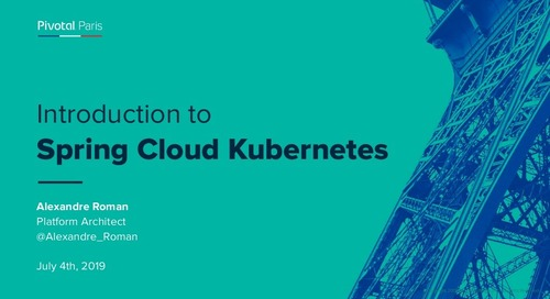 Introduction to Spring Cloud Kubernetes