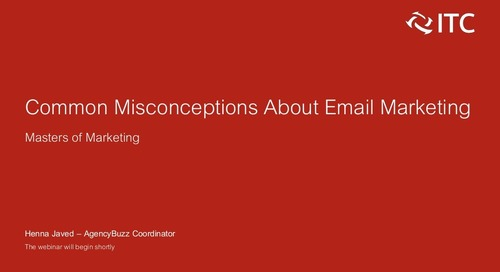 Common Misconceptions About Email Marketing