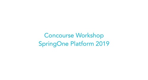 Concourse Workshop