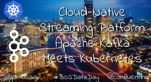 Cloud-Native Streaming Platform: Running Apache Kafka on PKS (Pivotal Container Service) by Confluent