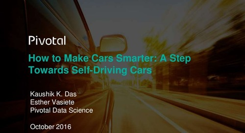 How to Make Cars Smarter: A Step Towards Self-Driving Cars