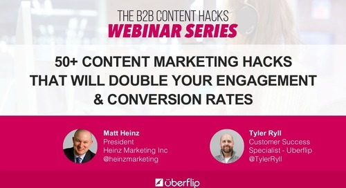 50+ Content Marketing Hacks That Will Double Your Engagement & Conversion Rates