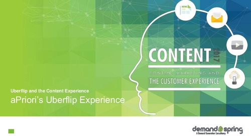 Content 2017: Content Marketing & the Customer Experience