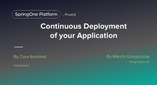 Continuous Deployment to the cloud