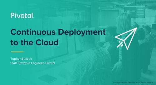 Continuous Deployment to the Cloud - Topher Bullock