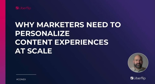 Marketers Need to Personalize Content Experiences at Scale
