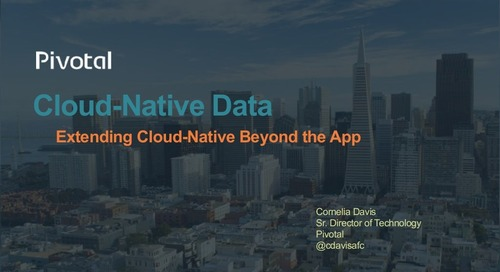 Cloud-Native-Data with Cornelia Davis