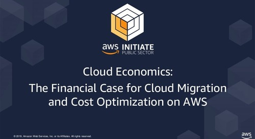 Cost Optimization on AWS
