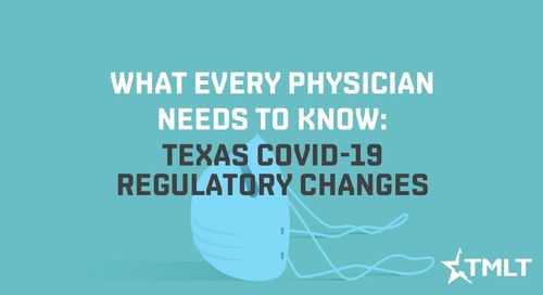 Texas COVID-19 regulatory changes