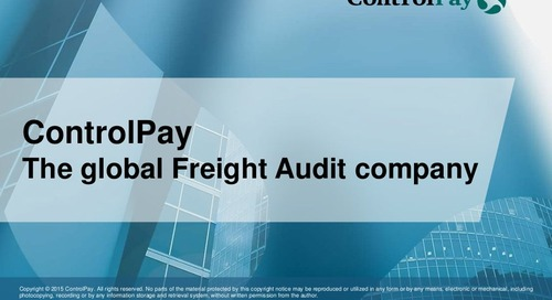 ControlPay - Global Freight Audit Solutions