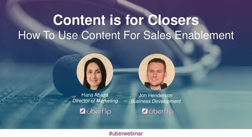 Creating Content for Sales Enablement