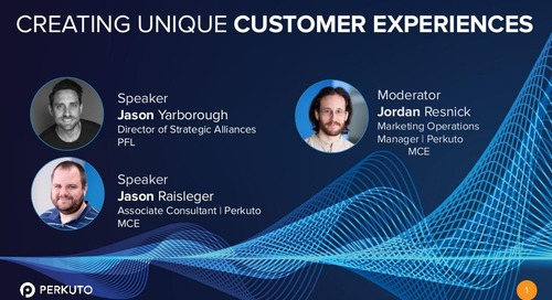 Creating Unique Customer Experiences