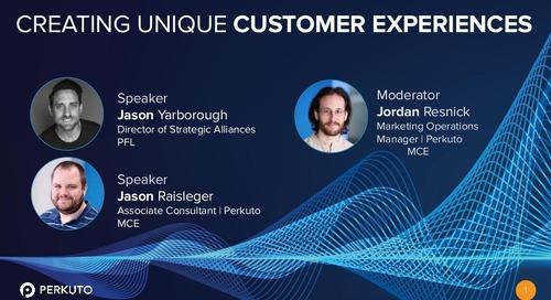 Creating Unique Customer Experiences