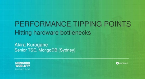 Performance Tipping Points - Hitting Hardware Bottlenecks