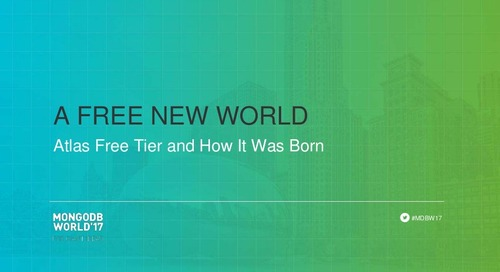 A Free New World: Atlas Free Tier and How It Was Born