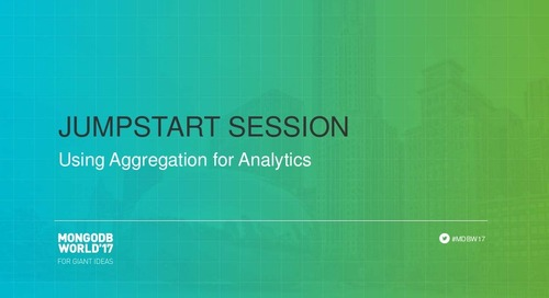 Using Aggregation for Analytics