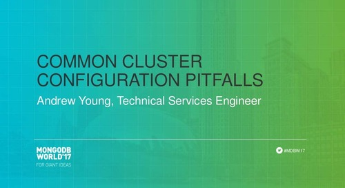 Common Cluster Configuration Pitfalls