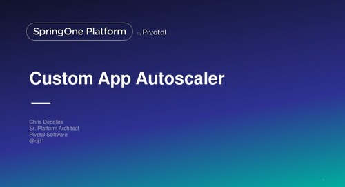 Custom App Autoscaler Using Cloud Controlly API
