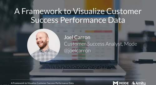 A Framework to Visualize Customer Success Performance Data Slides