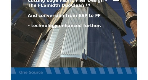 Cutting edge fabric filer design the fl smidth duo clean technology further enhanced [compatibility mode]