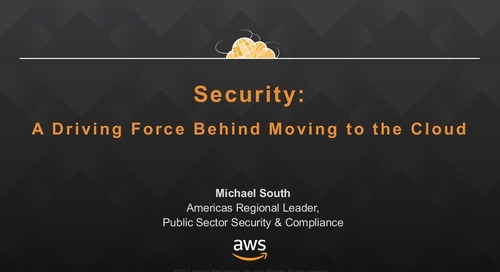 Security: A Driving Force Behind Cloud Adoption